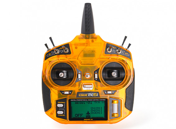 OrangeRx Tx6i Mode 2 Int'l Version 6ch 2.4GHz DSM2/DSMX Compatible Radio System