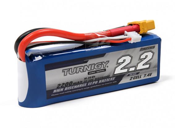 Turnigy 2200mAh 2S 20C Lipo Pack w/XT60U