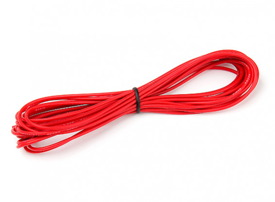 Turnigy High Quality 20AWG Silicone Wire 5m (Red)