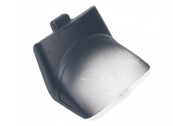 Durafly® ™ Tundra - Foam Canopy / Battery Hatch w/Magnet (Orange/Grey)