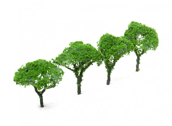 HobbyKing Model Railway Scale Trees 60mm (4 pcs)