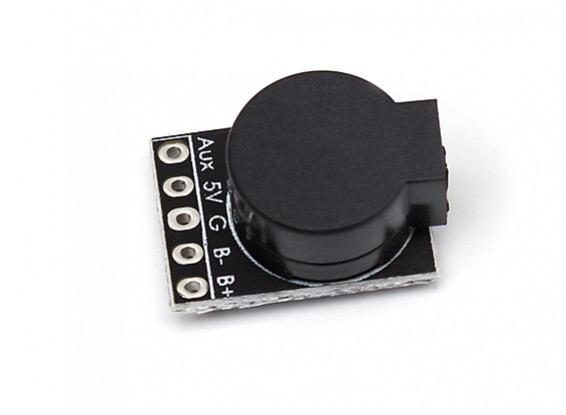 Matek Systems 5V Lost Model Beeper For PWM receivers and flight controllers (1pc)