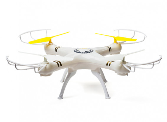 EZFLI D5D 6-axis Gyro (Ready to Fly) 2.4GHz Drone (Mode 2) (White)