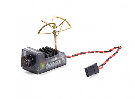 Quanum FPVMe HD Mini Camera w/40CH 5.8GHz 25~200mW VTX (Clover Antenna)