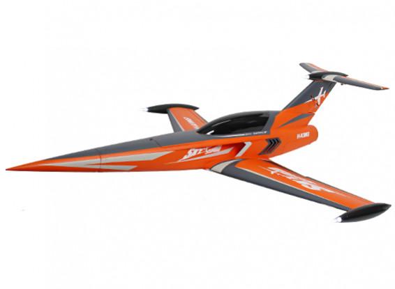 H-King SkySword 1200mm Orange 90mm EDF Jet (PNF)