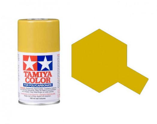 Tamiya Color Paints for Polycarbonate PS-56 Mustard Yellow Spray Paint  (100ml)