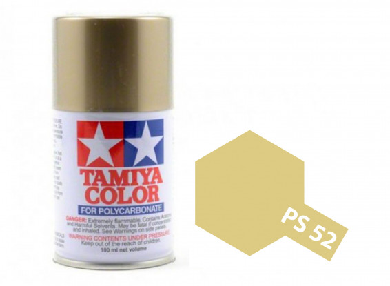 PS-52 Polycarb Spray (Champagne Gold Aluminum) 100ml