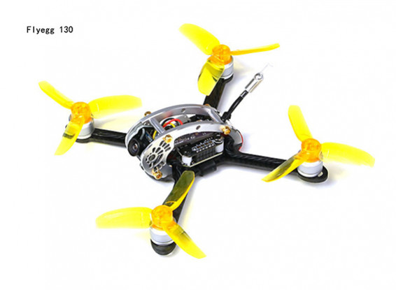 Kingkong Fly Egg 130 Camera Racing Drone with Piko BLX FC and Flysky  Receiver (PNF)