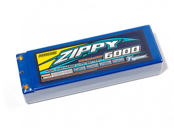 ZIPPY 6000mah 2S2P 50C Hardcase Pack