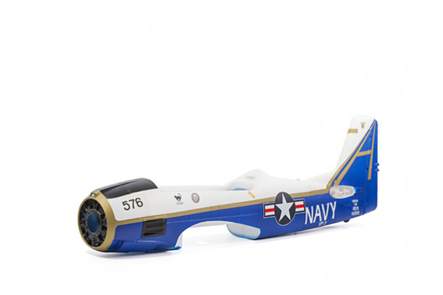 Durafly T-28 Naval 1100mm - Fuselage without Canopy