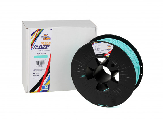 Light Green PLA Premium 3D Printer Filament 1.75mm 1kg Spool