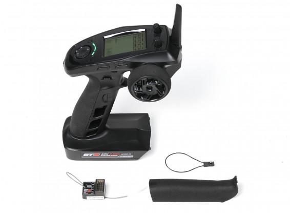 Turnigy GT5 6CH 2.4GHz AFHDS 2A Surface Radio w/GT5 Receiver (Gyro)