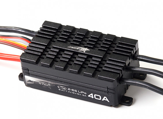 AeroStar WiFi 40A Brushless ESC with 5A BEC (2~6S)