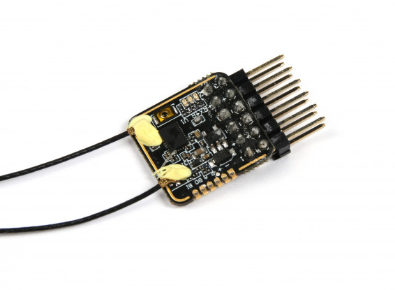 FrSky RX4R 2 4GHz ACCST 4/16CH Micro Receiver w/Telemetry and Smart Port  (EU version)