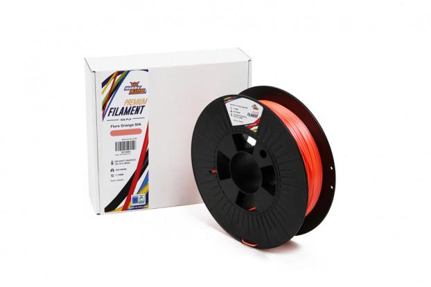 PLA Premium Silk Fluro Orange 500g 1.75mm HobbyKing