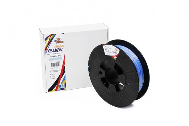 PLA Premium Silk Light Blue 500g 1.75mm HobbyKing