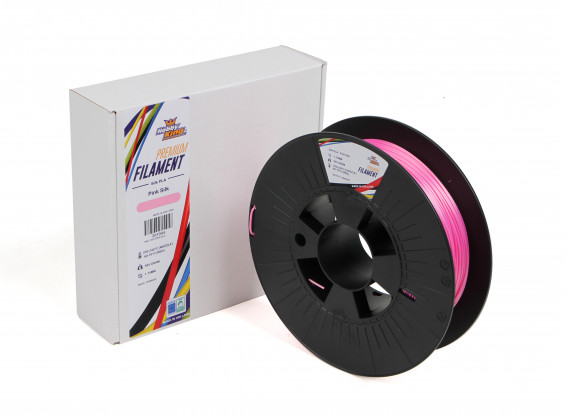 PLA Premium Silk Pink 500g 1.75mm HobbyKing