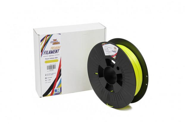 PLA Premium Silk Fluro Yellow 500g 1.75mm HobbyKing