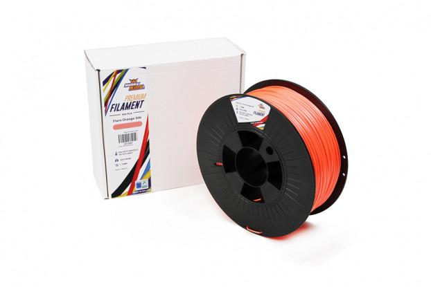 PLA Premium Silk Fluro Orange 1kg 1.75mm HobbyKing
