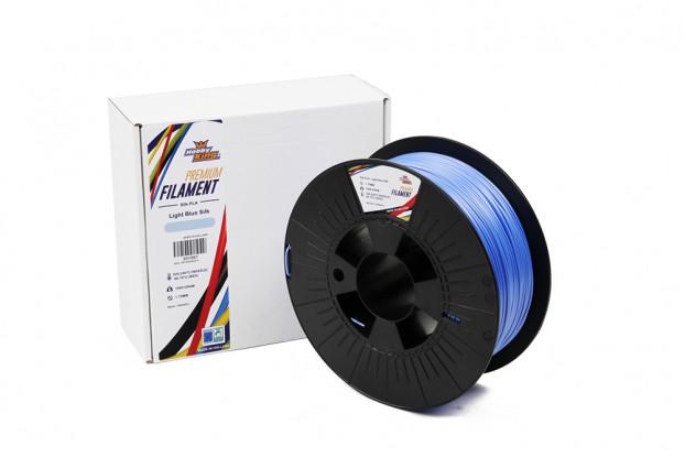 PLA Premium Silk Light Blue 1kg 1.75mm HobbyKing