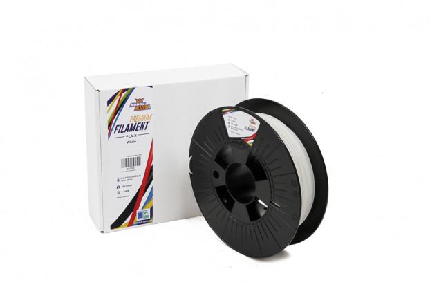 PLA Premium X White 500g 1.75mm HobbyKing