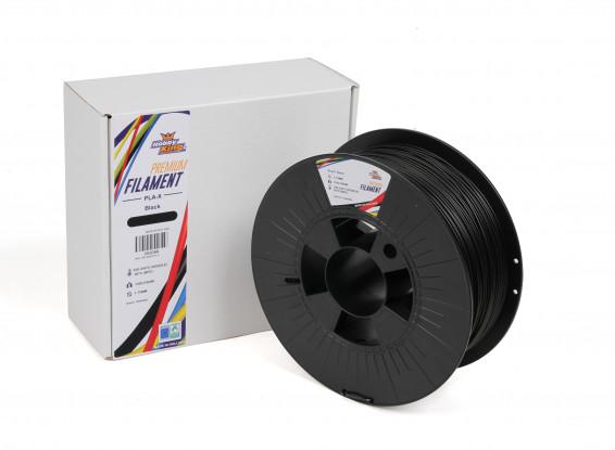 PLA Premium X³ Black 1kg 1.75mm HobbyKing
