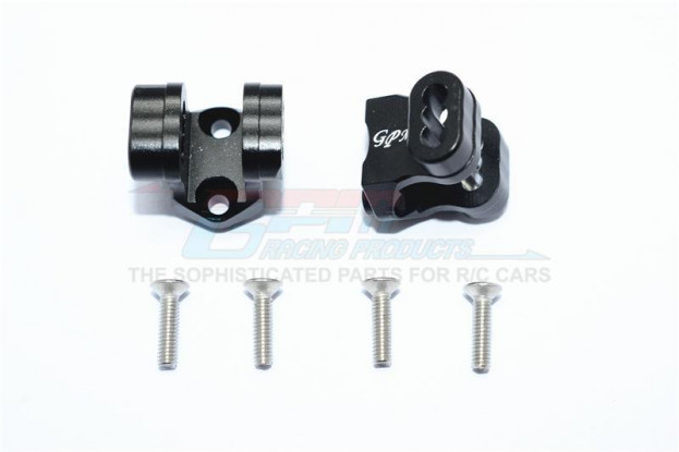 TRAXXAS TRX-4 GPM - Upgraded BK Rear Axle Mount for Suspension Links (6pc)