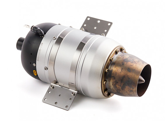 Swiwin SW120B Jet Turbine with Autostart and Brushless Starter (Thrust  120N-26 9lbs/12kg)