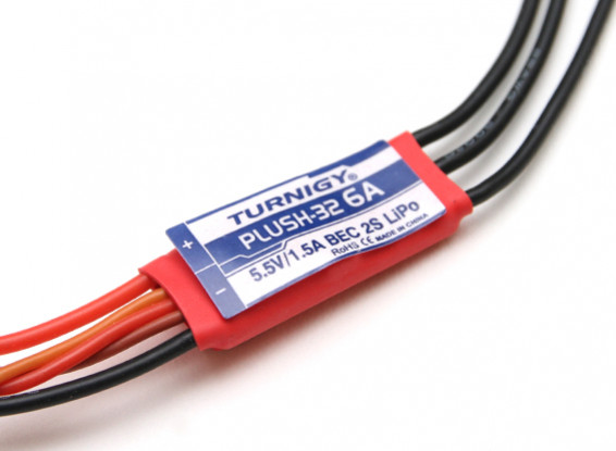 Turnigy Plush-32 6A (2S) Speed Controller w/BEC
