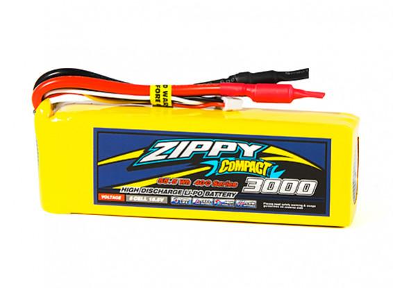 ZIPPY Compact 3000mAh 5S1P 40C Lipo Pack