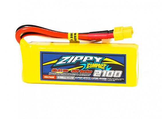 Zippy Compact 2100mAh 3S 35C Lipo Pack w/XT60