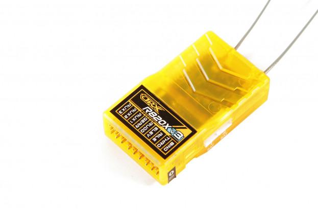 OrangeRx R820X V3 8Ch 2.4GHz DSMX/s.Link Compatible Full Range Receiver w/Div Ant, F/Safe & SBUS