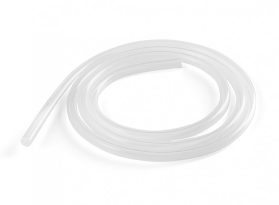 Silicon Fuel Line (1m) White for Glow Engines 6x4mm