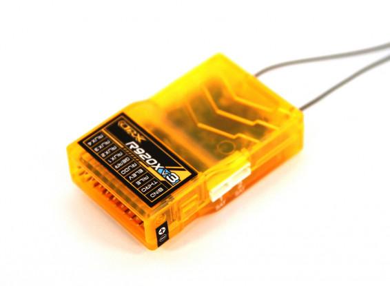 OrangeRx R920X V3 9Ch 2.4GHz DSM2/DSMX Compatible Full Range Receiver w/Div Ant, F/Safe & SBUS 1