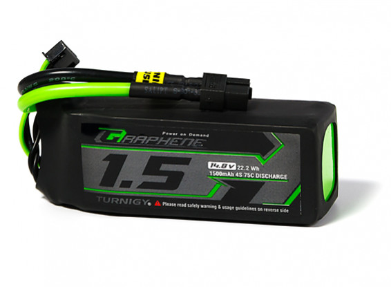 Turnigy Graphene Panther 1500mAh 4S 75C Battery Pack w/XT60
