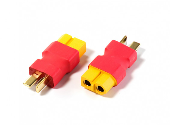 T Connector Male to XT60 Female Battery Adapter (2pcs)