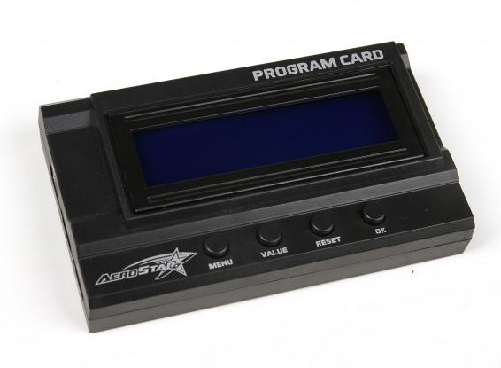 AeroStar Advance LCD Programming Card