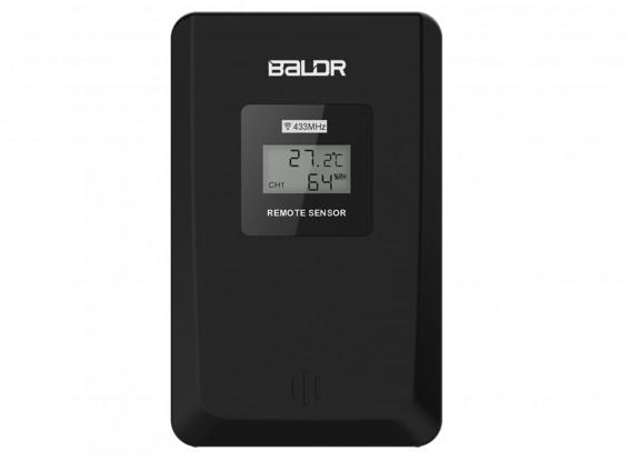 BALDR Touch Button Wireless Sensor Thermometer Remote Sensor