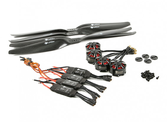 SCRATCH/DENT - LDPOWER D800 Multicopter Power System 3510-360kv CW/CCW (15x5.5) (4 Pack)