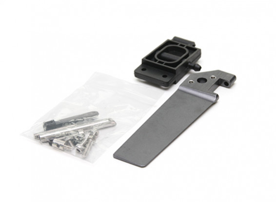 H-King Marine Aquaholic V2 Brushless RTR Deep Vee Racing Boat Replacement Aluminum Rudder Assembly