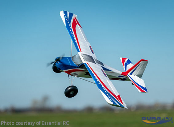 "Durafly Tundra V2 (PNF) - Red/Blue - 1300mm (51"") Sports Model w/Flaps"