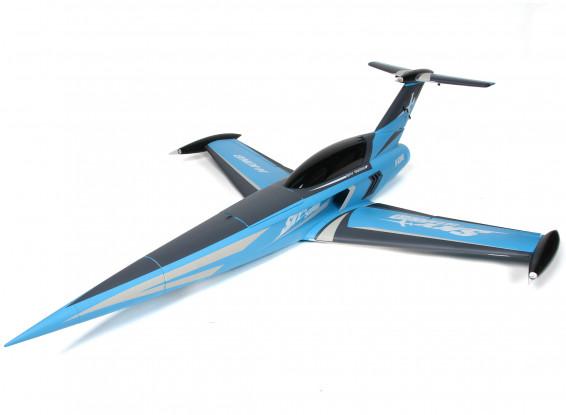 H-King SkySword 1200mm Blue 90mm EDF Jet (PNF)