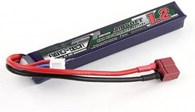 Turnigy nano-tech 1200mah 3S 15~25C Lipo AIRSOFT Pack - NG1200A.3S.15