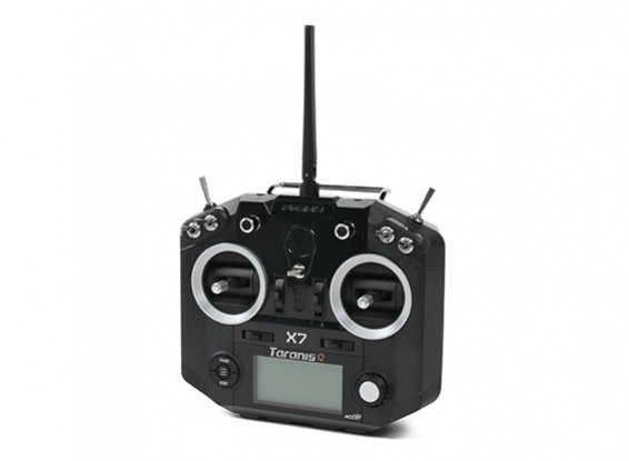 FrSky Taranis Q X7 Int'l Version Digital Telemetry Radio System 2.4GHz ACCST (Black-no plugs)
