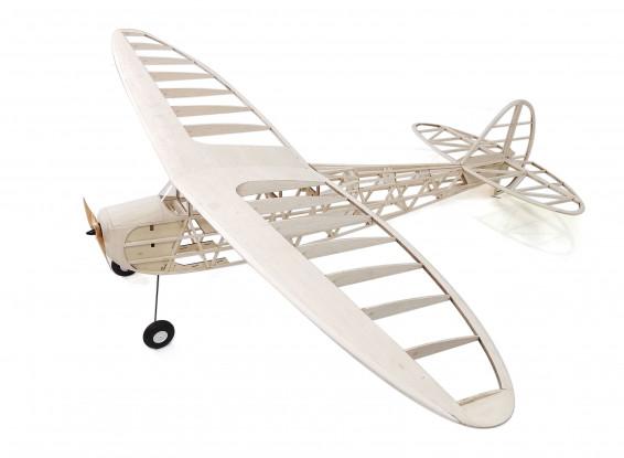 H-King Cloud Clipper Vintage Style Full Laser Cut Balsa Airplane Kit (1800mm)