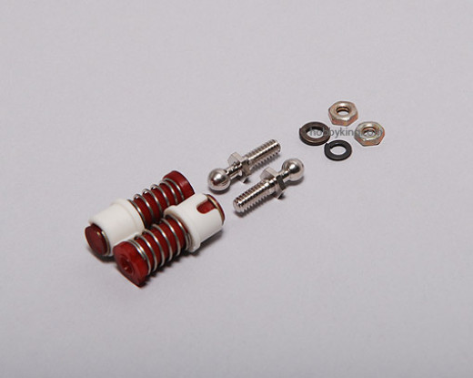 R/C Car ball joint W/ Locking Sleeve 3mm