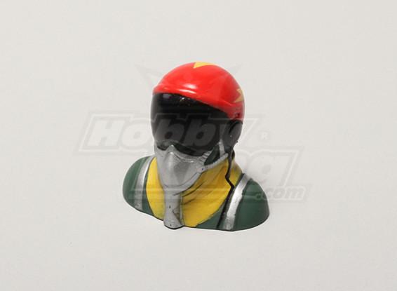 Jet Pilot (Red) (H40 x W42 x D25mm)