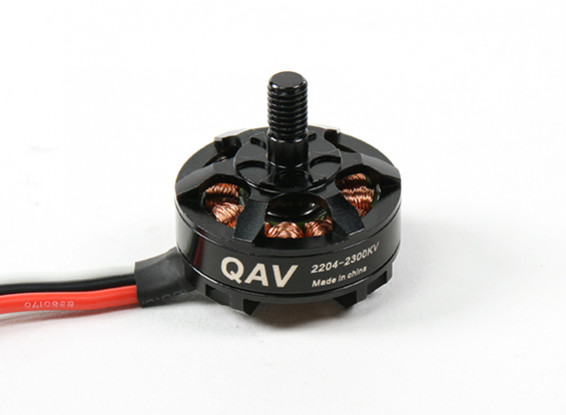 QAV RT2204-2300KV Quad Racing Motor (CW)