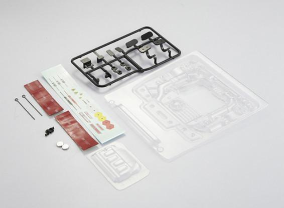 MatrixLine Polycarbonate Engine Kit for 1/10 Touring Cars #7
