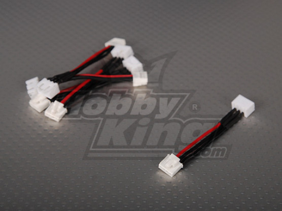 Female JST-XH <-> Male Thunderpower 2S 5cm (5pcs/bag)
